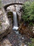 Christine Falls, zet Regenachtiger Nationaal Park (de Staat van Washington, de V.S.) op Royalty-vrije Stock Fotografie