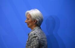 Christine Lagarde Lizenzfreies Stockbild