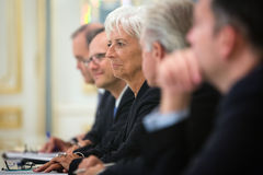 Christine Lagarde Stock Photography