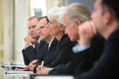 Christine Lagarde Stock Photos