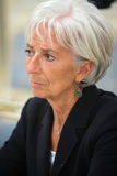 Christine Lagarde Royalty Free Stock Photography