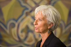 Christine Lagarde Stock Photos