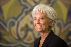 Christine Lagarde Royalty Free Stock Image
