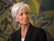 Christine Lagarde Stock Photo
