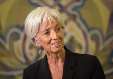 Christine Lagarde Stock Image