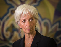 Christine Lagarde Royalty Free Stock Images