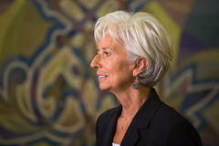 Christine Lagarde Royalty Free Stock Photos