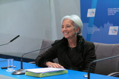 Christine Madeleine Odette Lagarde Royalty-vrije Stock Foto