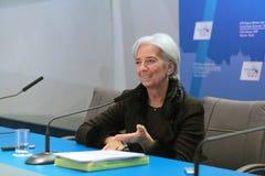 Christine Madeleine Odette Lagarde Royaltyfria Foton