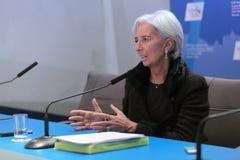 Christine Madeleine Odette Lagarde Stock Photo