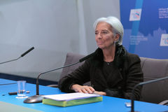 Christine Madeleine Odette Lagarde Stock Photo