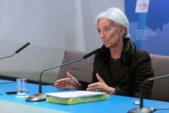 Christine Madeleine Odette Lagarde Stock Image