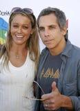 Christine Taylor and Ben Stiller Stock Photo