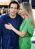Christine Taylor  and Ben Stiller Royalty Free Stock Photography