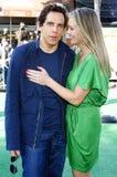 Christine Taylor and Ben Stiller Stock Images