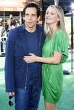 Christine Taylor  and Ben Stiller Stock Photos