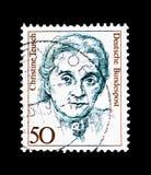 Christine Teusch, polityk, kobiety w niemiec Histor (1888-1968) obraz stock