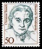 Christine Teusch, polityk, kobiety w Niemieckim historii seria około 1986, (1888-1968) fotografia royalty free