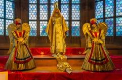 Christkind and Angels - figures -Christmas symbol Nuremberg-Germany Royalty Free Stock Images