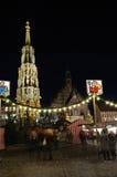 Christkindlesmarkt (Weihnachtsmarkt) in Nürnberg lizenzfreie stockfotos
