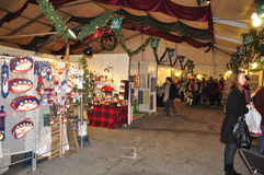 Christkindlmarkt, Bethlehem, PA Fotos de archivo libres de regalías