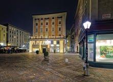 ` Christkindlmarkt `` in Salzburg Stock Fotografie