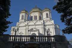 Christliche Kirche in Stavropol Lizenzfreies Stockfoto