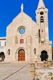 Christliche Kirchen der blaue Himmel stockfoto