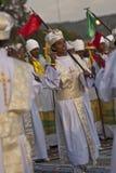Christliche orthodoxe eifrige Anhänger Lizenzfreies Stockfoto