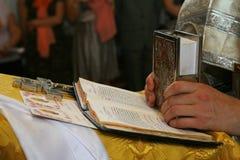 Christliche orthodoxe Gebete lizenzfreie stockfotos