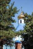 Christliche orthodoxe Kirche stockbild