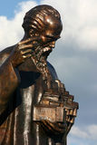 Christliche orthodoxe Skulptur in Ohrid Lizenzfreie Stockbilder