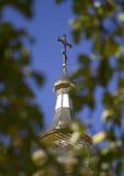 Christliches Kreuz Stockfotografie