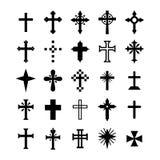 Christliches Kreuz Stockfoto