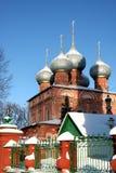 Christliches russisches Kloster Lizenzfreies Stockfoto