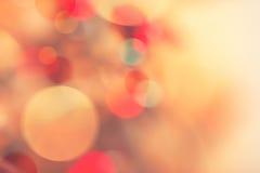 Christma Światła Zdjęcie Royalty Free