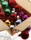 Christma baubles Stock Photo