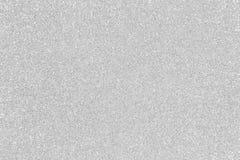 Christma de plata del fondo Fotografía de archivo