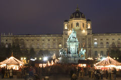 Christma-mercado en Viena fotografía de archivo libre de regalías