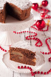 Christmad cake Royalty Free Stock Photos