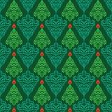 Christman seamless pattern Stock Photos