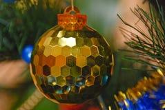 On the christman-tree Stock Photography