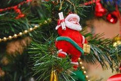 On the christman-tree Royalty Free Stock Photos