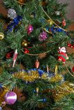 On the christman-tree Stock Image