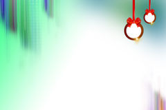 christmans bell right side, abstract background Stock Photos