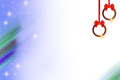 christmans bell right top side , abstrack background Royalty Free Stock Photo