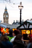 Christmans market in London Royalty Free Stock Photos