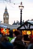 Christmans-Markt in London Lizenzfreie Stockfotos