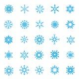 008-Christmas 004 Śnieżni płatki Fotografia Royalty Free