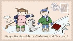 Christmas_1 Ilustración del Vector